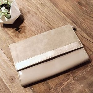 Vegan Envelope Clutch or Crossbody Handbag NEW